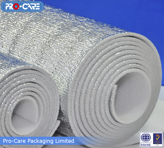 EPE Foam Insulations & Bubble Insulation - Pro-Care Packaging